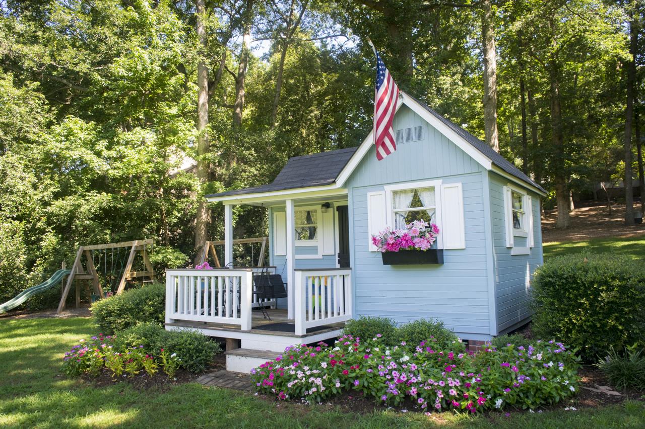 Betty Farr's children's playhouse