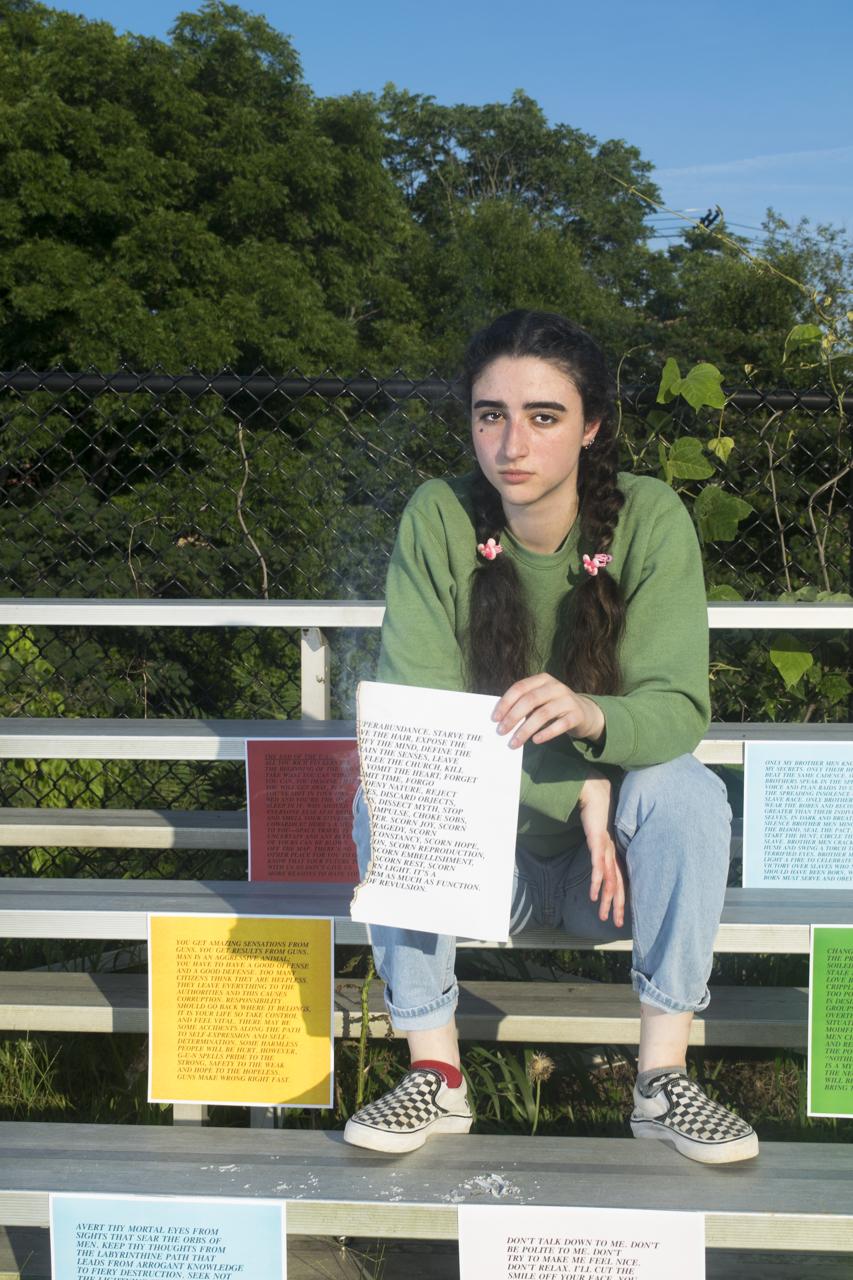 Celina Odeh among Holzer's Inflammatory Essays