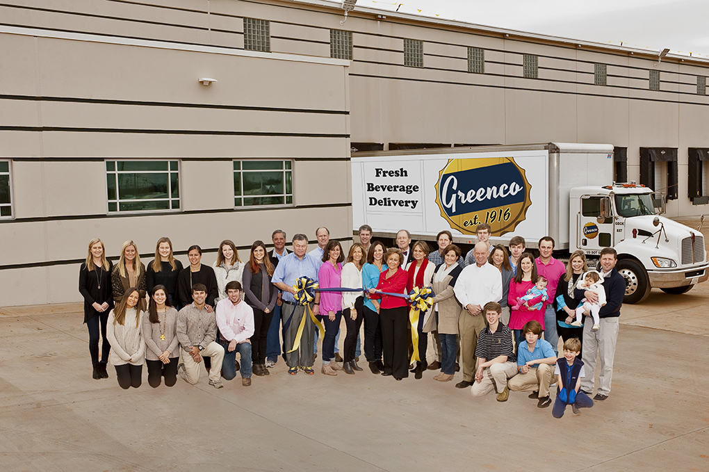 Betty Farr Greenco Beverage ribbon cutting new facility Greenville, SC