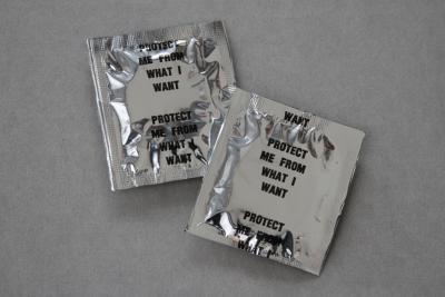 Jenny Holzer condoms