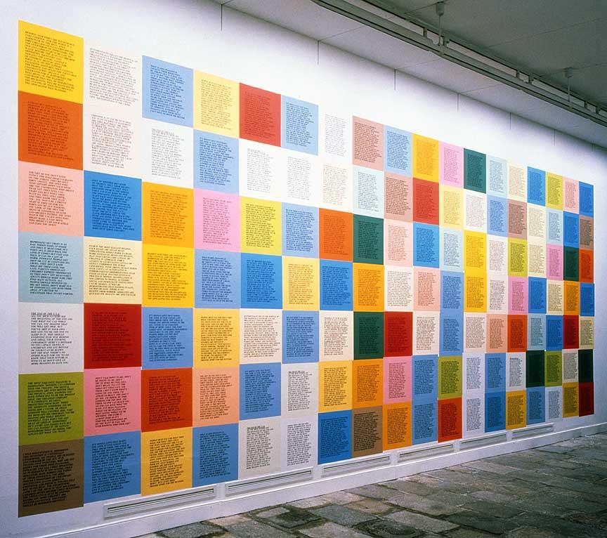 Jenny Holzer Inflammatory Essays Installation